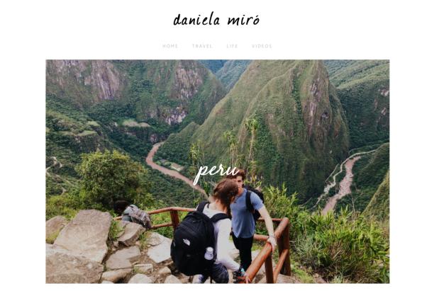 Daniela Miro's Website